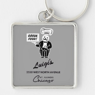 Porte-clés Le restaurant de Luigi, Chicago, IL