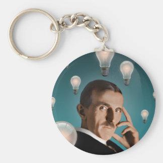 Porte-clés Le rêve de Tesla