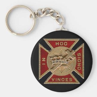 Porte-clés Le rite de York adoube le porte - clé de Templar