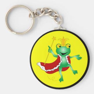 Porte-clés Le Roi Keychain de grenouille