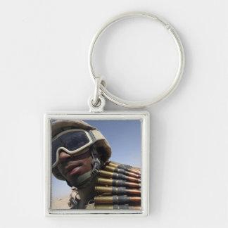 Porte-clés Le soldat de première classe attend son tour