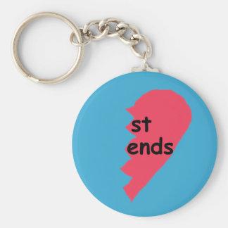 Porte-clés Le St FINIT la moitié de porte - clé