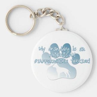 Porte-clés Le Staffordshire Terrier américain Granddog