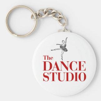 Porte-clés Le studio de danse, porte - clé de ballet