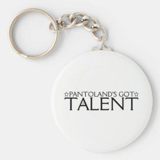 Porte-clés Le talent obtenu de Pantoland