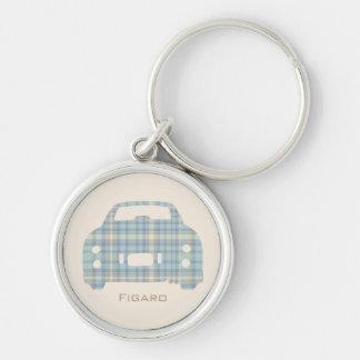 Porte-clés Le tartan Nissan Figaro de McFig a customisé le