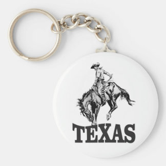 Porte-clés Le Texas noir