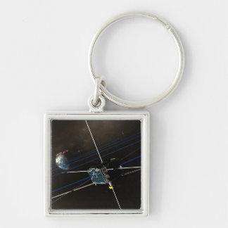 Porte-clés Le vaisseau spatial de cinq THEMIS en orbite