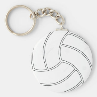 Porte-clés Le volleyball simple folâtre le porte - clé de
