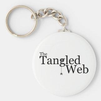 Porte-clés Le Web embrouillé