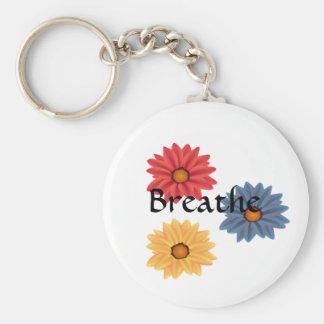 Porte-clés Le yoga respirent le porte - clé