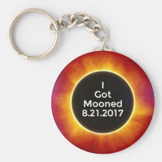 Porte-clés L'éclipse solaire américaine obtient le 21 août