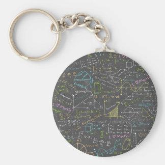 Porte-clés Leçons de maths
