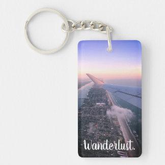 Porte-clés L'envie de voyager, voyage, explorent le porte -
