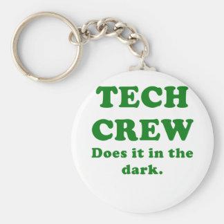 Porte-clés L'équipage de technologie le fait dans l'obscurité