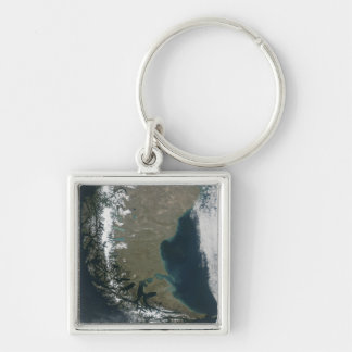 Porte-clés Les Andes rocailleux et couronnés de neige