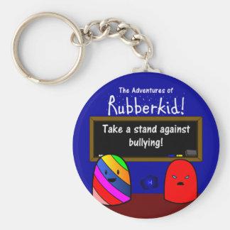 Porte-clés Les aventures du porte - clé de Rubberkid