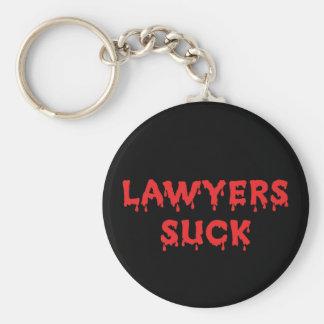 Porte-clés Les avocats sucent