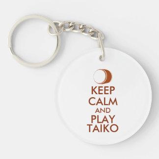 Porte-clés Les cadeaux de Taiko gardent la coutume de tambour