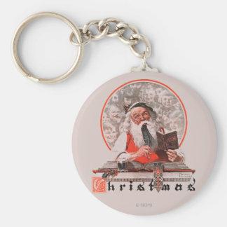 Porte-clés Les dépenses de Père Noël