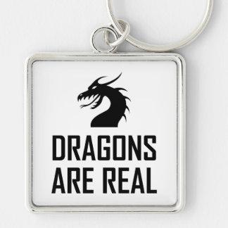 Porte-clés Les dragons sont vrai imaginaire