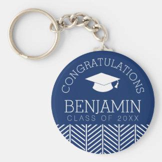Porte-clés Les félicitations reçoivent un diplôme -