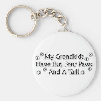 Porte-clés Les Grandkids sont des animaux