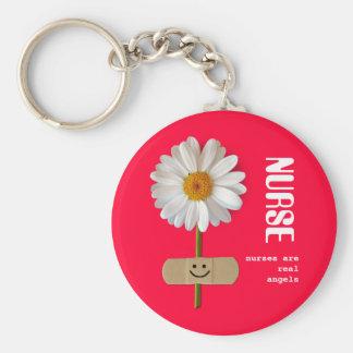 Porte-clés Les infirmières sont de vrais anges. Porte - clé