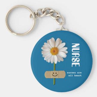 Porte-clés Les infirmières sont tout le coeur. Porte - clé de