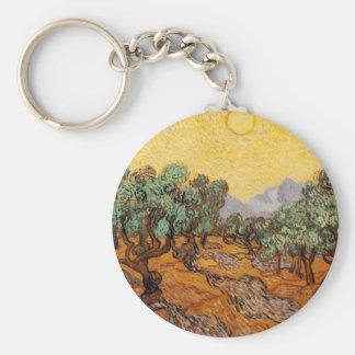 Porte-clés Les oliviers de Vincent Van Gogh (Olives trees)
