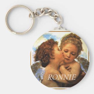 Porte-clés les premiers anges de baiser, RONNIE
