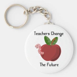 Porte-clés Les professeurs changent le futur porte - clé