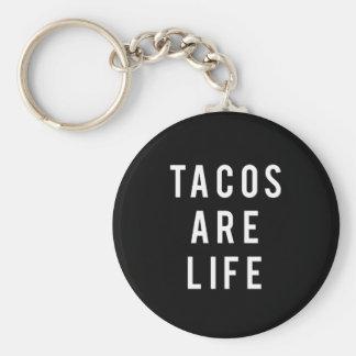 Porte-clés Les tacos drôles sont copie de la vie