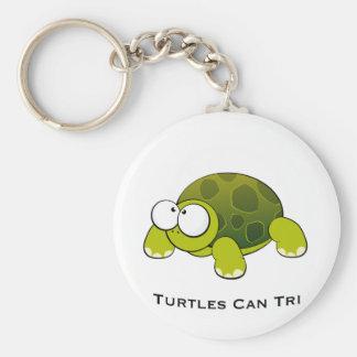 Porte-clés Les tortues mettent en boîte tri
