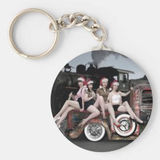 Porte-clés Les vacances encouragent le Pin de Rod Père Noël