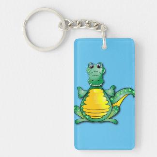 Porte-clés L'étreinte du crocodile