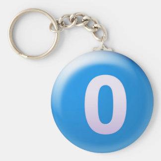 Porte-clés Lettre O