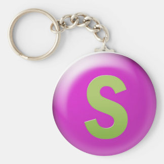 Porte-clés Lettre S