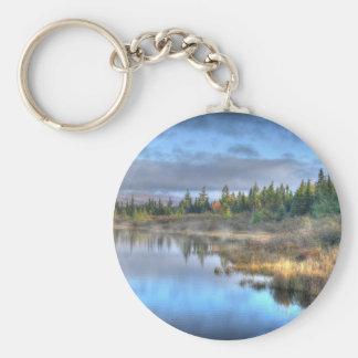 Porte-clés Lever de soleil d'automne au lac Maine Moosehead