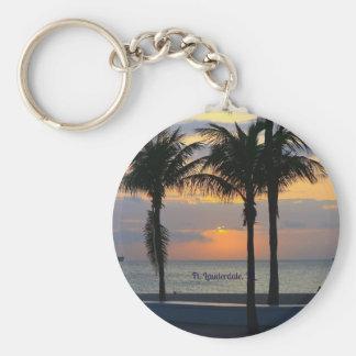 Porte-clés Lever de soleil de Fort Lauderdale