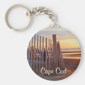 Porte-clés Lever de soleil de masse romantique de Cape Cod