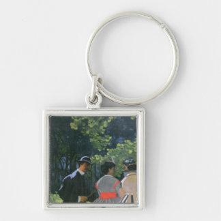 Porte-clés l'Herbe de sur de Dejeuner de Claude Monet |,