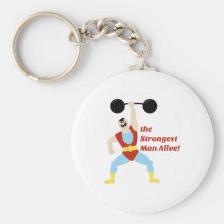 Porte-clés L'homme le plus fort