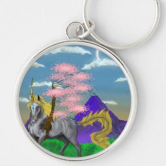Porte-clés Licorne de nature
