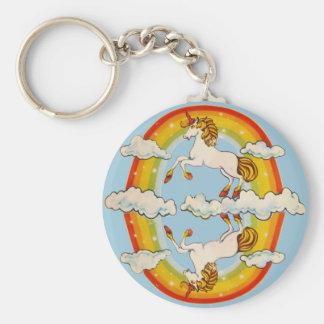Porte-clés Licornes et arcs-en-ciel
