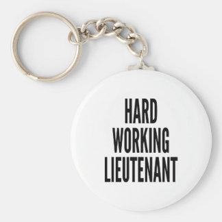 Porte-clés Lieutenant travaillant dur