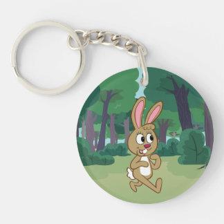 Porte-clés Lièvres de Rick | Becky de garde forestière
