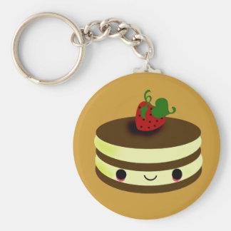 Porte-clés Ligne taboue de gâteau du Japon