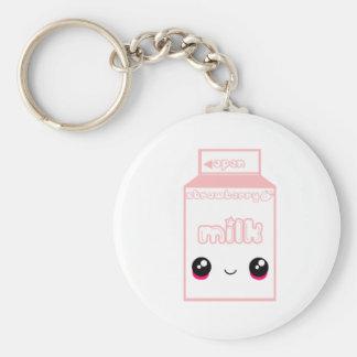 Porte-clés Ligne taboue fraise de lait du Japon