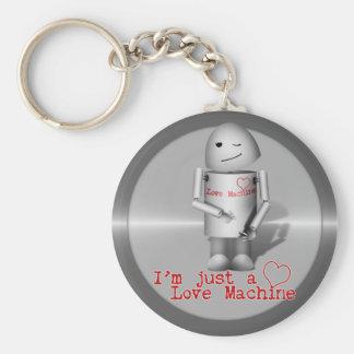 Porte-clés (Lil Robo-x9) machine d'amour